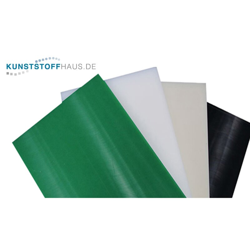 30-100 mm - PE-UHMW Sheet, PE 1000 - Polyethylene - Selectable dim. and colour