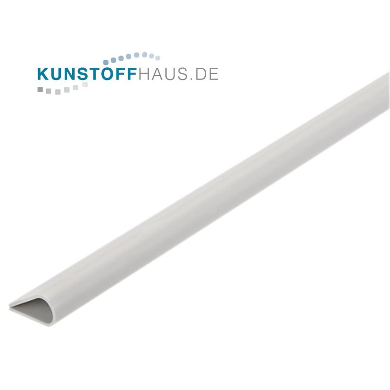 PVC frame profile - 15 x 8,5 mm - White
